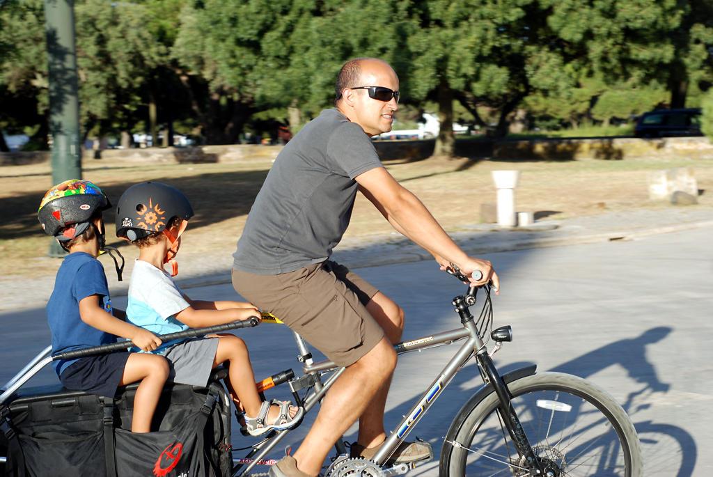 We ride bikes