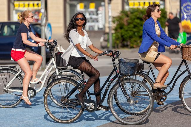 Why cycling without a helmet is good for everyone